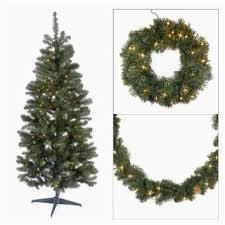 Black Artificial Christmas Tree Buy 3 Piece Bo Set 6 5 Pre Lit