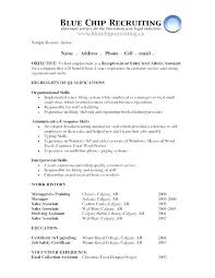 Administrative Assistant Resume Objective Administration Office Support Example