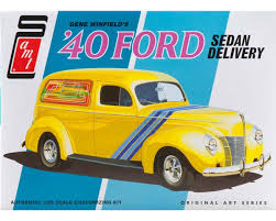AMT Amt 1/25 1940 Ford Sedan Delivery Truck (G.Winfield ...