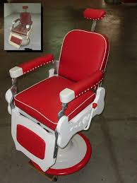 sillon barbero theo koch barber chair by elio reyes retro vintage
