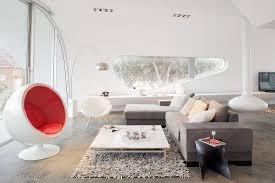 wohnzimmer mit designermöbeln im bild kaufen 12498778