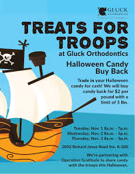 Operation Gratitude Halloween Candy 2014 by Halloween Candy Buy Back