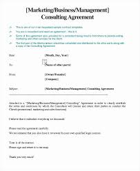 Consulting Agreement Template Short Example Marketing Consultant Contract Simple Proposal Of Fresh