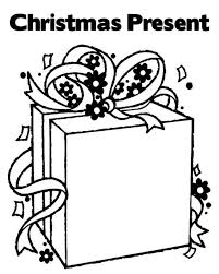 Printable Coloring Pages Christmas Present For Children