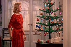 Above We Have A Scene From Summer Place 1959 In Which Constance Ford Remarks With Satisfaction Upon Decorating Her Little Christmas Tree
