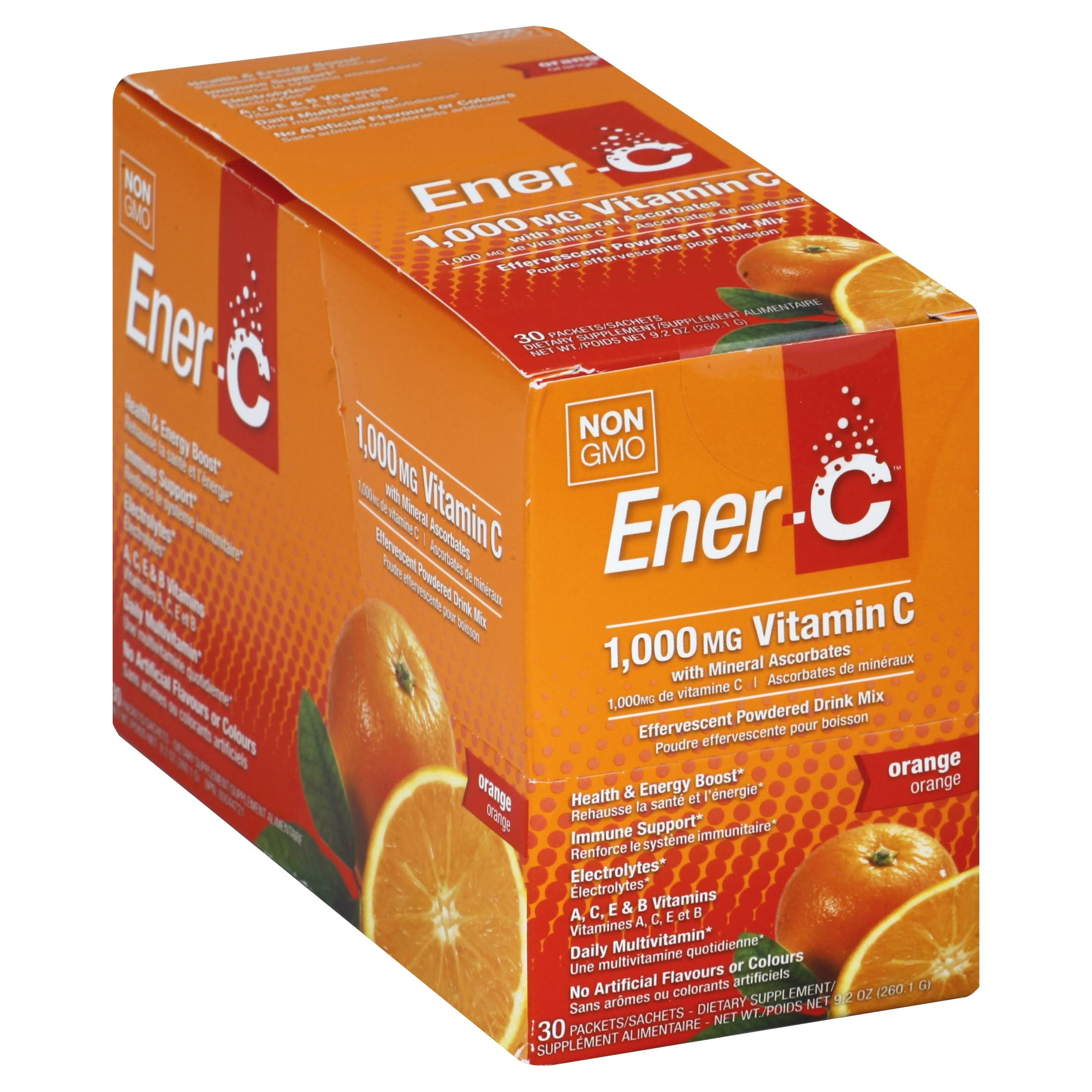 Ener-C Vitamin Drink Mix - Orange, 30 Pack