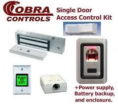 magnetic lock kit for cabinets complete single door magnetic lock kit with fingerprint prox by