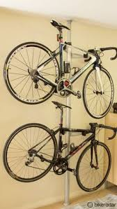 Ceiling Bike Rack Flat by The Hydro Pneumatic Ceiling Bike Rack To Park Your Bike Flat To