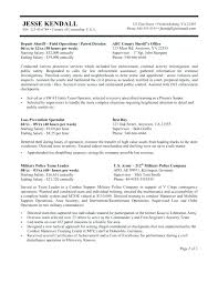 Sample Federal Resume Template Example Job Examples Management