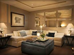 Mirror Wall Decoration Ideas Living Room For Goodly Photo New