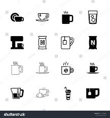 Coffee Icon Collection Of 16 Filled And Outline Icons Such As Drink Bag