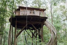 100 Tree Houses With Hot Tubs Secluded House Vacation Rental With Tub Near Chalais Abbey In Raray France