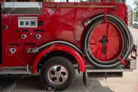 Firefighter Truck And Tools Stock Photo, Picture And Royalty Free ...