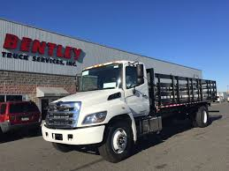 2016 Hino 268A 24 Ft. Flatbed Stakebody Truck - Feature Friday ... Used 2010 Intertional 4300 Stake Body Truck For Sale In New Stake Body Kaunlaran Truck Builders Corp Equipment Sales Llc Completed Trucks 2006 Chevrolet W4500 Az 2311 2009 2012 Hino 338 2744 Sterling Acterra Al 2997 Stake Body Pickup Truck Archdsgn 2007 360 2852 2005 Chevrolet 3500 Dump With Snow Plow For Auction