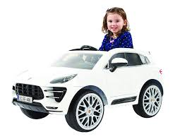 Amazon.com: Rollplay 6 Volt Porsche Macan Ride On Toy, Battery ...
