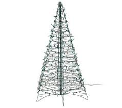 5ft Black Pre Lit Christmas Tree by Pre Lit 6 U0027 Fold Flat Outdoor Christmas Tree By Lori Greiner Page