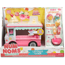 100 Nom Nom Food Truck Num S Lipgloss Craft Kit Walmartcom