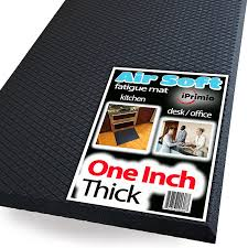 Standing Desk Floor Mat Amazon by Amazon Com Extra Thick One Inch Standing Anti Fatigue Mat Air