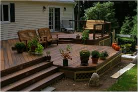 Backyards: Stupendous Deck In Backyard. Backyard Ideas. Backyard ... Backyard Multi Level Paver Patio Steps Le Flickr Interlock Natural Stone Landscaping Minnesota Patios Southview Design 25 Beautiful Leveling Yard Ideas On Pinterest How To Level Creating A Meant Building Retaing Wall Behind Ideas Charcoal Slate Stones With Pea Stone Gravel Bethesda 365 Home Sales In Pool Ground And Setup 2014 Home Deck Foyer Garage Split Creative For Urban Outdoor Spaces Image Trending Sloped Backyard Sloping Modular Block Rhapes Also Back
