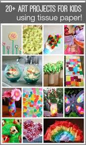 20 Tissue Paper Crafts For Kids