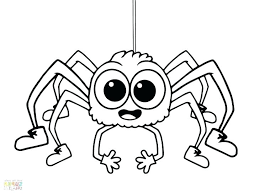 Printable Minecraft Cake Coloring Pages Extraordinary Spider Kids Page To Print For Spiders Animal Bat And