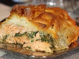 vivolta cuisine de recette du saumon en croûte de filo