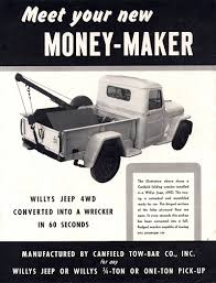 1940s-canfield-wrecker-money-maker-brochure1   Willys Jeep ... 20 Jeep Gladiator Preview Consumer Reports Midsize Pickup Enters Battle Not Sure If I Should Put This Under Jeeps Or Rat Rods All Pickups Photos Of New Wrangler Pickup Truck Fortune 1940scanfieldwcmoneymakerbrochure1 Willys American Us Flag Fender Decals For Truck Etsy History Go Beyond The Should Buy A Youtube 2019 Price Release Date Used Cars For Sale Little Rock Hot Springs Benton Ar
