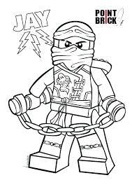 Ninjago Coloring Pages Kai Page Book 2 Jay Master Of