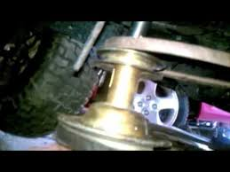 Murray Mower Deck Belt by How To Replace A Drive Belt On A Riding Mower Youtube
