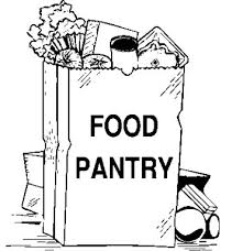 canned food drive black and white clipart 9