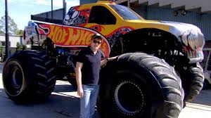 100 Godzilla Monster Truck Versus His Own Body Issues 2012