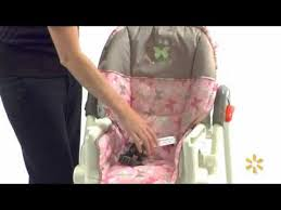Space Saver High Chair Walmart by Baby Trend Victoria High Chair Walmart Youtube
