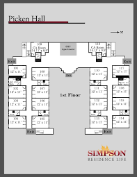 100 Simpsons House Plan UpperDivision Options Simpson College
