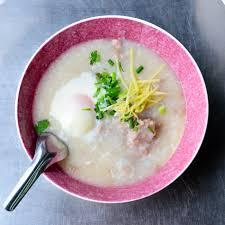 cuisine roborative rice and pork porridge the traditional breakfast cookery