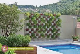 mur de separation exterieur aménagement jardin créatif et original à l aide des parpaings
