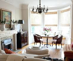 Bay Window Dining Room Sitting Area Decorating Ideas