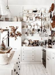 View In Gallery Shabby Chic Kitchen Celebrates White Design Kara Rosenlund