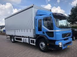 VOLVO FE 240 Firanka 7,5M Trucks Curtainsider For Sale, Tautliner ...