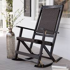 Porch Rocking Chairs Ideas Home Design Ideas Black Metal Kitchen Chairs