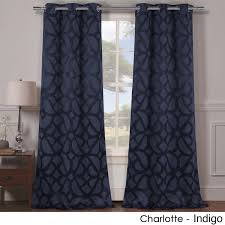 Burgundy Grommet Blackout Curtains by 2 Panels Heavy Woven Triple Layered Blackout Curtains Yugster