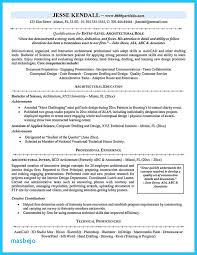 Draft Resume Example Architectural Drafting Examples
