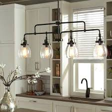 industrial style kitchen island lighting influenced by the vintage