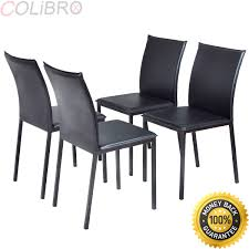 Amazon.com - COLIBROX--Set Of 4 Dining Chairs PU Leather ... My 44 Ding Room Bistro Chairs Monica Wants It Top 51 Superlative Custom Mid Century Modern Counter Stools Hillsdale Monaco Parson Set Of 2 Espresso Walmartcom Chair Of 4 Elegant Design Fabric Upholstered For Grey Mainstays Richmond Hills Stackable Patio Better Homes Gardens As Low 18 At Gymax Armless Nailhead Wwood Legs Fniture Faux Leather The 8 Best Walmart In 20