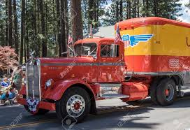100 Valley Truck And Trailer Graeagle California USA July 5 2015 A Classic Kenworth Truck