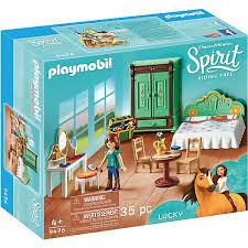 playmobil 9476 luckys schlafzimmer spirit