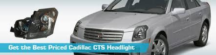 cadillac cts headlight headlights crash dorman tyc