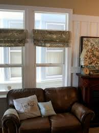 Checkered Flag Window Curtains by Diy Window Curtains From Canvas Or Dropcloth Diy Network Blog