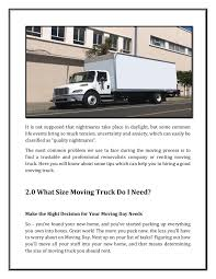 100 Truck Moving Rentals Things To Look Before Renting A
