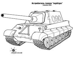 Coloring Page Tank Transportation 62