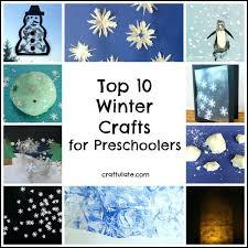 Top Winter Crafts For Preschoolers Craft Kindergarten Toddler